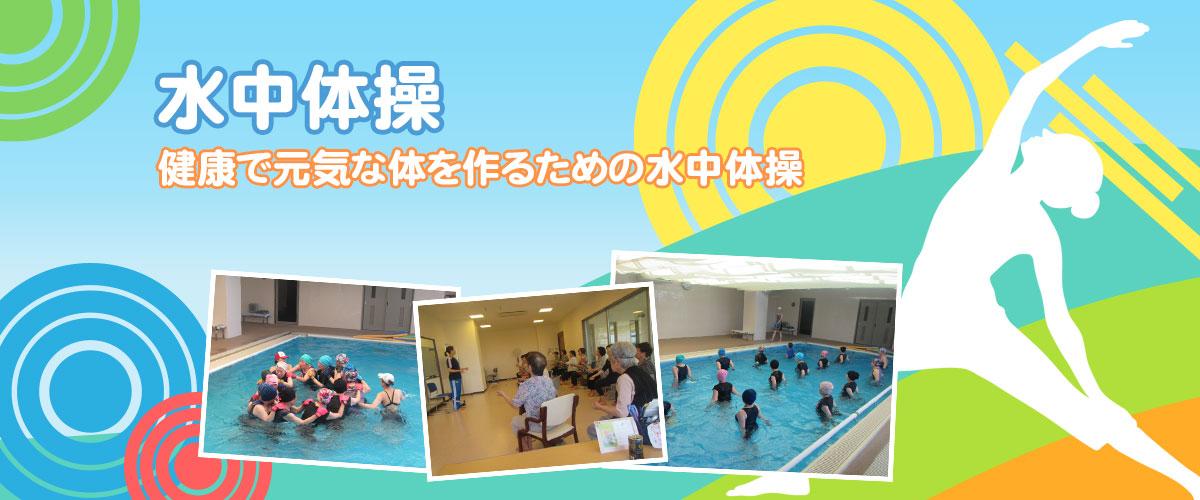水泳体操 健康な体をつくる